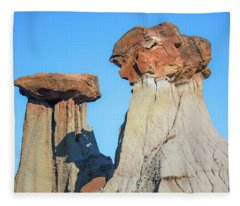 Rock Formation Fleece Blanket