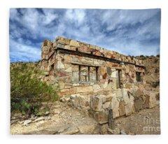 Rock House Fleece Blanket