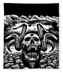 Rock The Hell Fleece Blanket