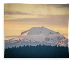 Rocky Cathedrals That Reach To The Sky Fleece Blanket