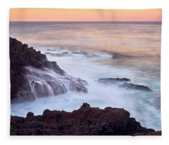 Fleece Blanket featuring the photograph Rocky Creek by Whitney Goodey
