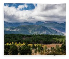 Rocky Foothills Fleece Blanket