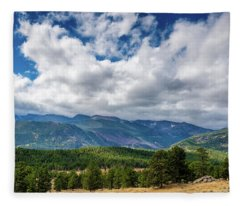 Rocky Mountain Np II Fleece Blanket