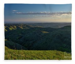Rolling Mountain - Algarve Fleece Blanket
