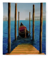 Romantic Solitude Fleece Blanket
