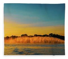 Roostertail Fleece Blanket
