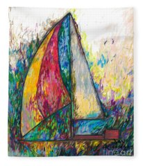 Rough Sailing Fleece Blanket