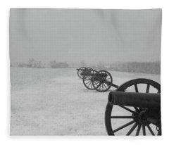 Row Of Cannon Fleece Blanket