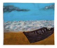 Row Your Boat Fleece Blanket