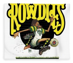 Rowdies Old School Fleece Blanket