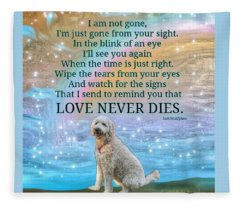 Custom Order  Unavailable For Public Purchase Roxy Love Never Dies Fleece Blanket