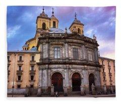 Royal Basilica Of San Francisco El Grande Fleece Blanket