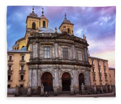 Royal Basilica Of San Francisco El Grande Fleece Blanket