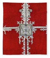 Royal Door Of Sintra Fleece Blanket