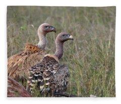 Ruppell's Griffons Fleece Blanket