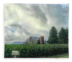 Rural Route Fleece Blanket