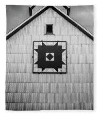 Rural Steel Fleece Blanket