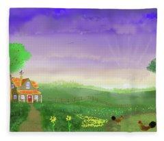 Rural Wonder Fleece Blanket