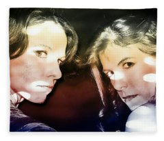 Ryli And Mimi 1 Fleece Blanket