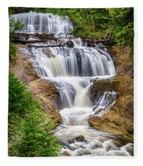 Sable Falls Fleece Blanket