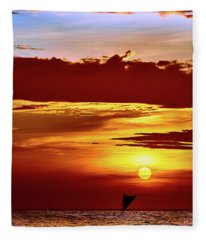 Sail Away... Fleece Blanket
