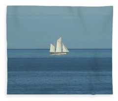 Sail Boat Fleece Blanket