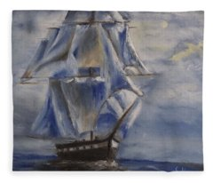 Sail The Seas Fleece Blanket