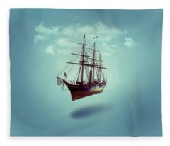 Sailed Away Fleece Blanket