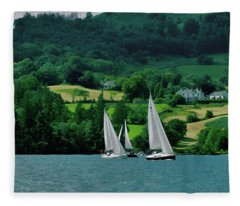 Sailing By Fleece Blanket