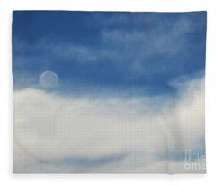 Sailing On A Cloud Fleece Blanket