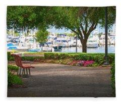 Saint Petersburg Florida Impression Fleece Blanket