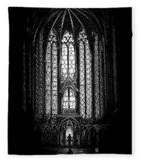 Sainte-chapelle Fleece Blanket