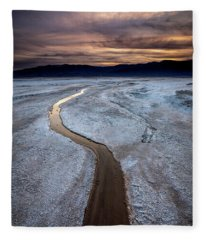 Salt Creek Flats IIi Fleece Blanket