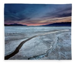 Salt Creek Flats Iv Fleece Blanket