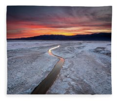 Salt Creek Flats Fleece Blanket
