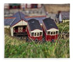 Saltburn Tramway Fleece Blanket
