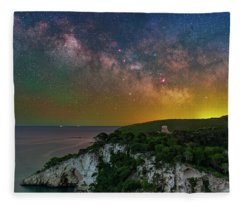 San Felice Arch And Tower Fleece Blanket