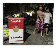 Sancocho  Fleece Blanket
