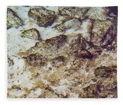 Sand 3 Rivers Fleece Blanket
