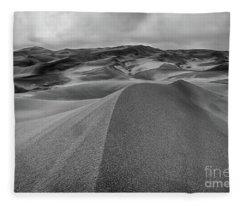 Sand Dune Ridge Fleece Blanket