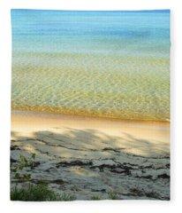 Sandy Blue Fleece Blanket