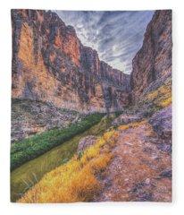 Santa Elena Trail Fleece Blanket