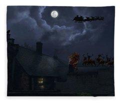 Santas Fleece Blanket