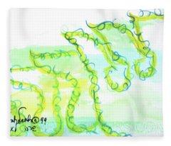 Sarah Nf1-123 Fleece Blanket