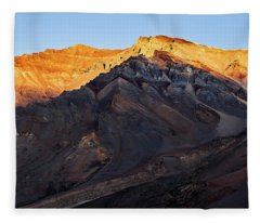 Fleece Blanket featuring the photograph Sarchu Sunrise by Whitney Goodey