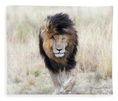 Scar The Lion Fleece Blanket