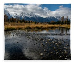 Schwabacher Landing Fleece Blanket