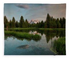 Schwabacher Morning Fleece Blanket