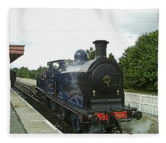 Scotland. Aviemore. Strathspey Railway. Fleece Blanket