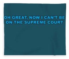 Scotus Fleece Blanket
